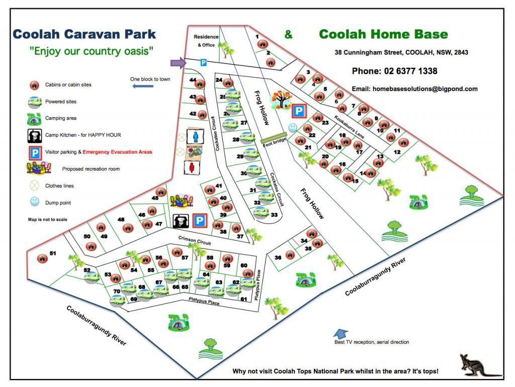 Coolah_Caravan_Park_Map
